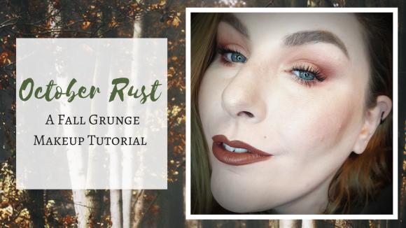 Get the Look | October Rust – A Fall Grunge Makeup Tutorial pt.1 – Fall Series