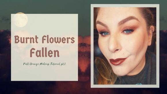 Get the Look | Burnt Flowers Fallen. A Fall Grunge Makeup Tutorial pt.2 – Fall Series