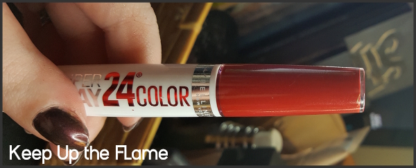 Maybelline SuperStay 24 Lipcolor in Keep Up the Flame