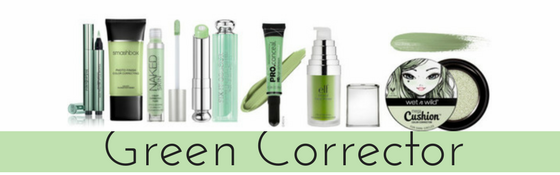 Green Color Correctors