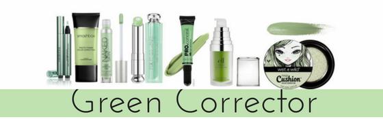 Green Color Correctors