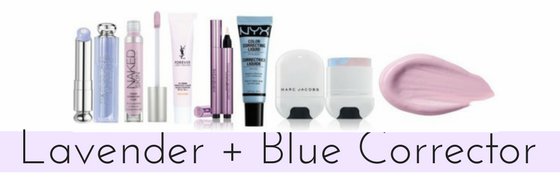 Lavender + Blue Color Corrector