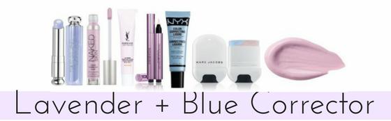 Lavender + Blue Color Corrector