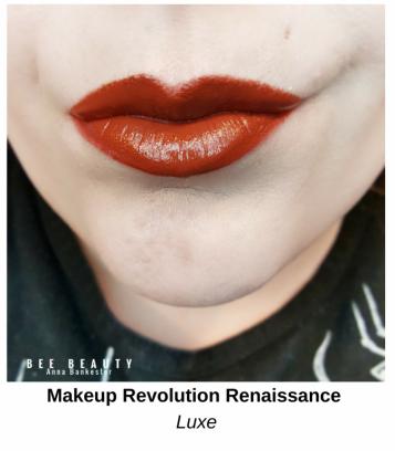 Makeup Revolution Matte Renaissance - Luxe