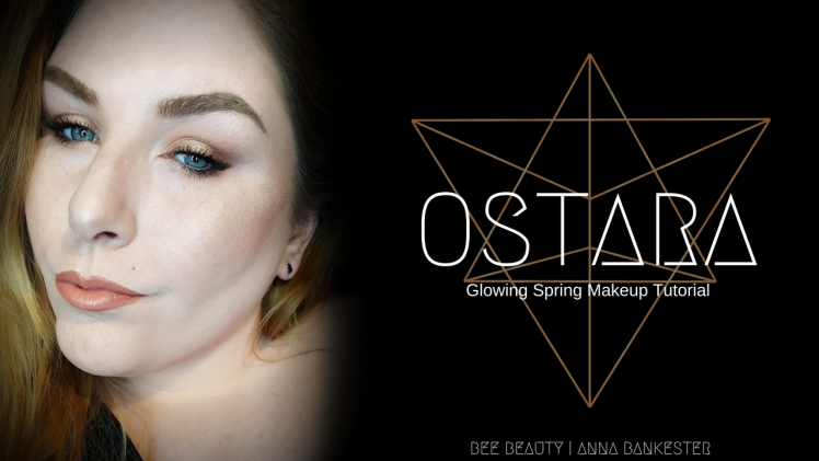 I wanted to kick off the week with a super springy glowy and wearable look. I wanted to have this look up Friday but time got away from me ...