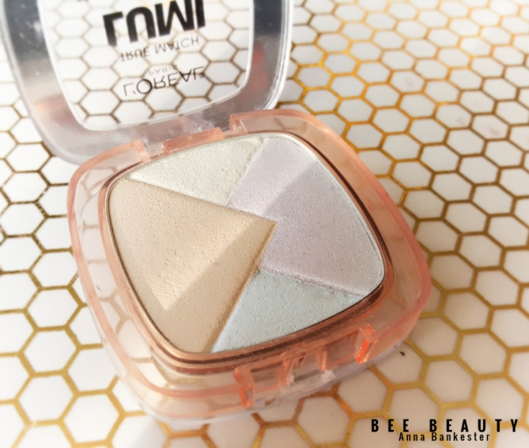 he Loreal True Match Lumi Powder Glow Illuminator Blush and Highlighter