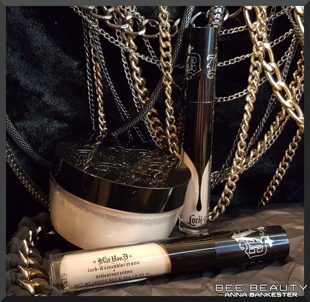 Kat Von D Lock-It Concealer + Kat Von D Lock-It Setting Powder