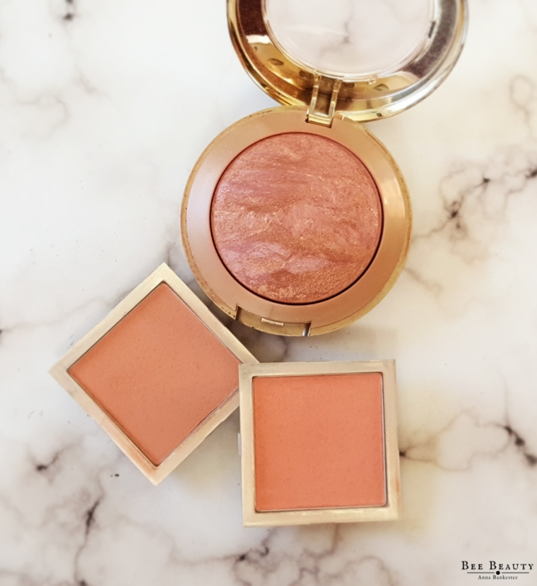 Milani Baked Blush - Berry Amore. E.L.F Beautifully Bare Full Face Palette