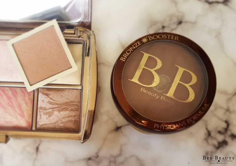 E.L.F. Beautifully Bare Full Face Palette. Physicians Formula BB Bronze Booster - Light. Hourglass Ambient Lighting Bronze - Light