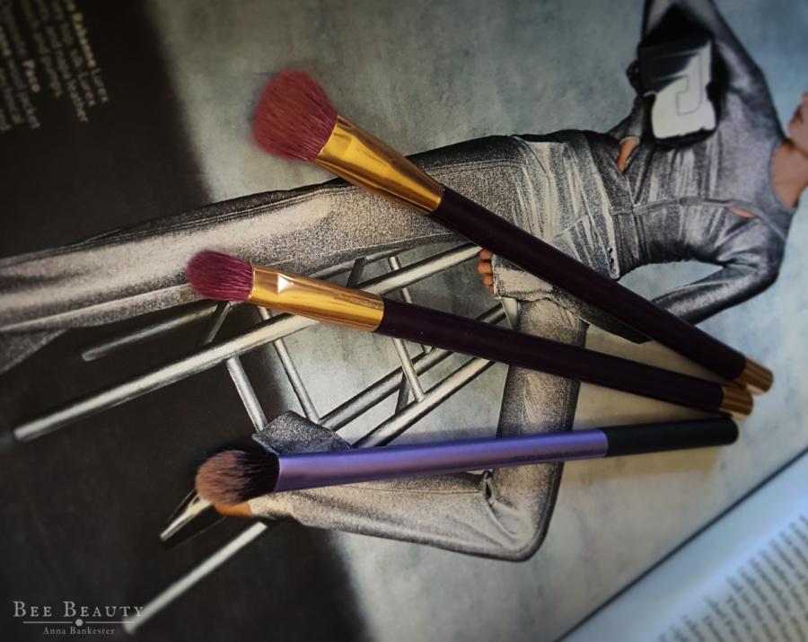 Sonia Kashuk Eye Brushes + Real Techniques Base shadow brush: