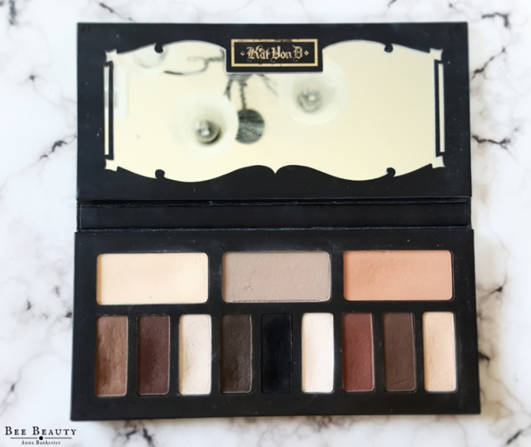 Kat Von D Beauty Shade + Light Eye Contour Palette Review, Swatches & Looks