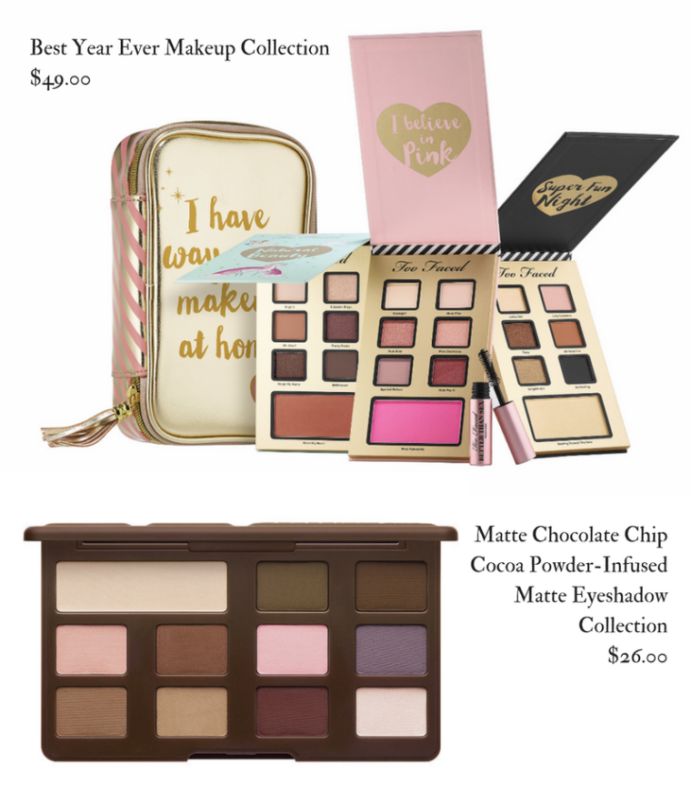 Too Faced Holiday 2017