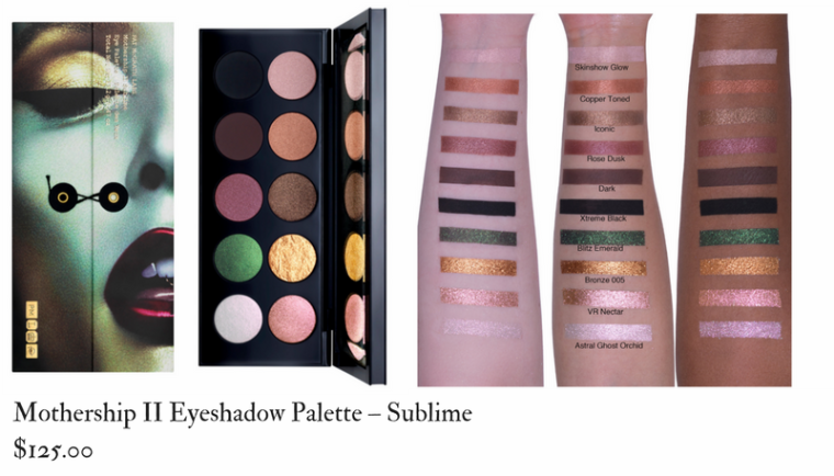Pat Mcgrath Labs Mothership II Eyeshadow Palette