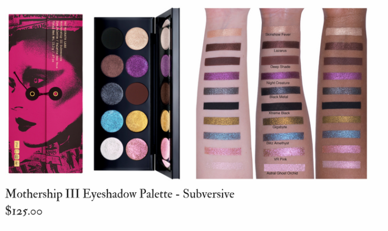 Pat Mcgrath Labs Mothership III Eyeshadow Palette