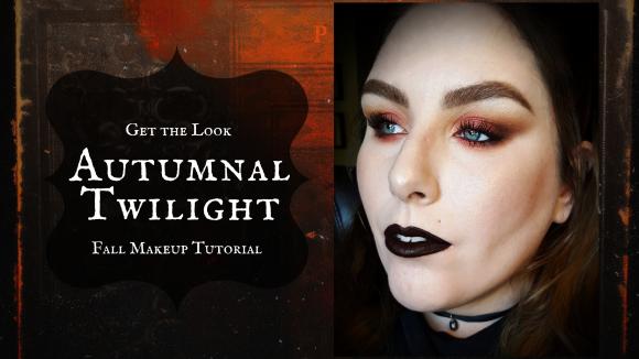 Get the Look | Autumnal Twilight | Fall Makeup Tutorial – Feat. KVD Saints & Sinners Palette