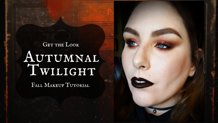 Get the Look | Autumnal Twilight | Fall Makeup Tutorial – Feat. KVD Saints & Sinners Palette