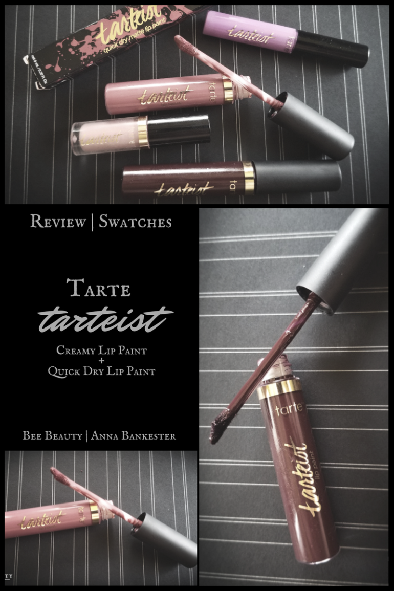 Tarte Tarteist Lip Paints