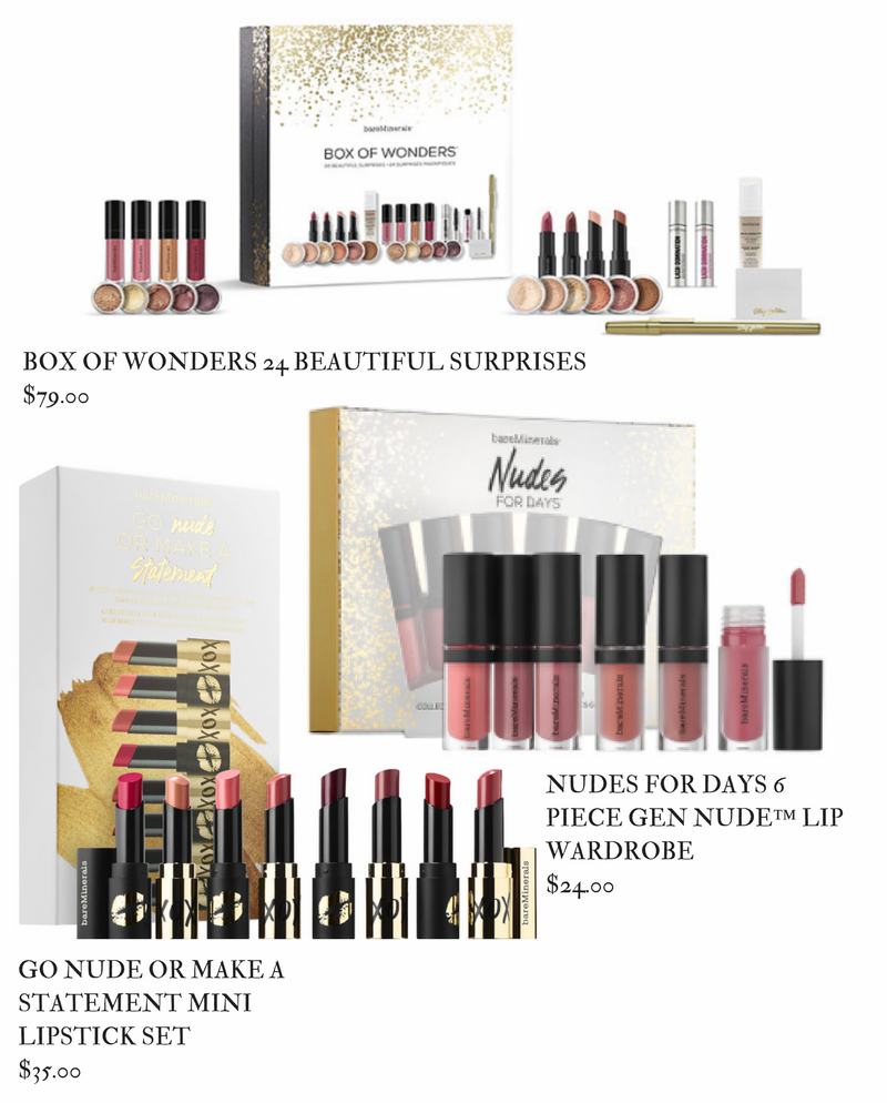 Bare Minerals Holiday 2017