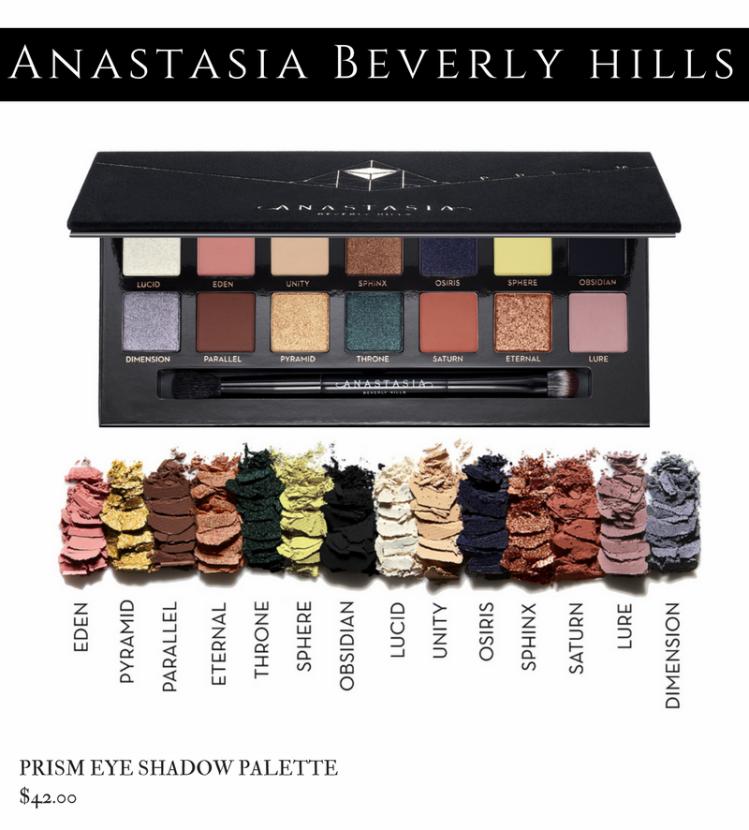 Anastasia Beverly Hills Holiday 2017 - Prism Palette