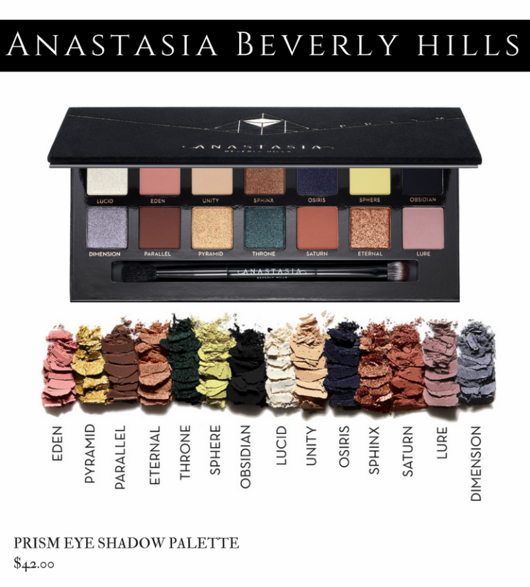 Anastasia Beverly Hills Holiday 2017 - Prism Palette