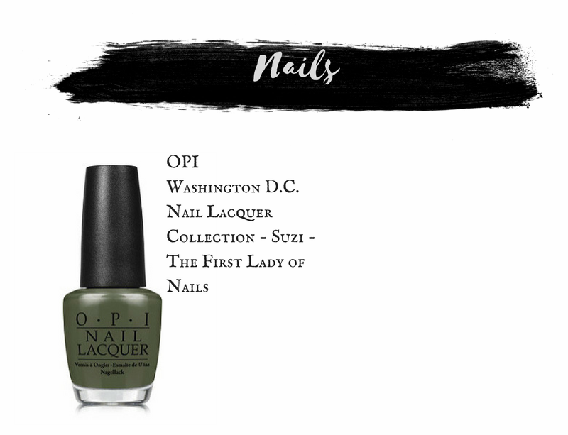 OPI Washington D.C. Nail Lacquer Collection in Suzi - The First Lady of Nails