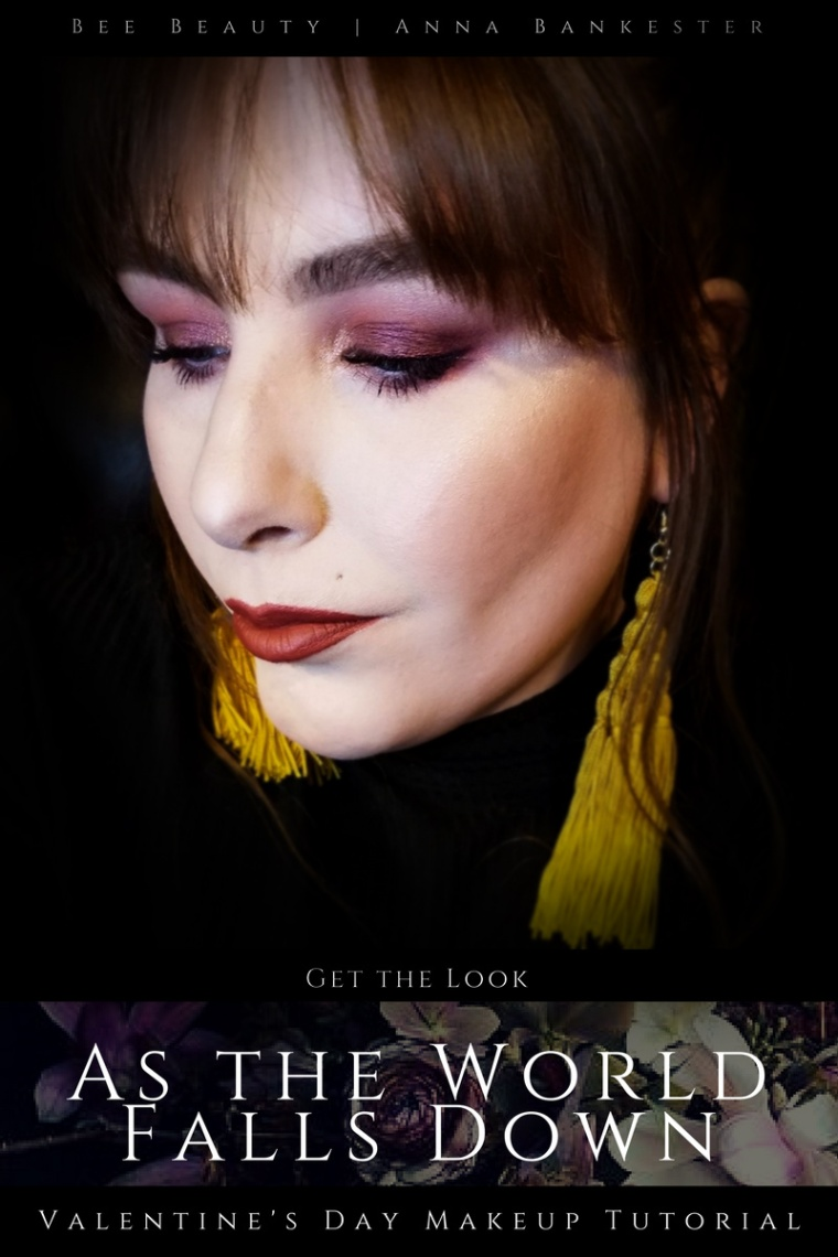 Get the Look | As the World Falls Down - Valentine's Makeup Tutorial Featuring Huda Beauty Desert Dusk + Colourpop.
