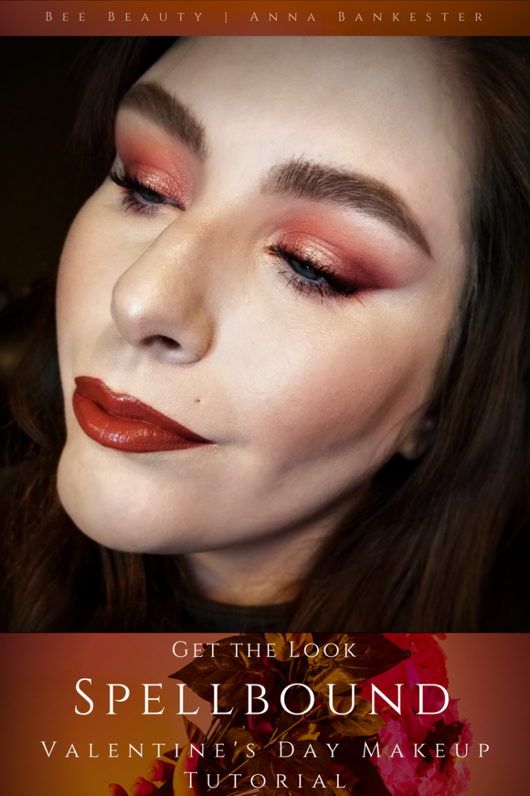 Get the Look | Spellbound - Valentine's Day Makeup Tutorial featuring Huda Beauty Desert Dusk + Colourpop