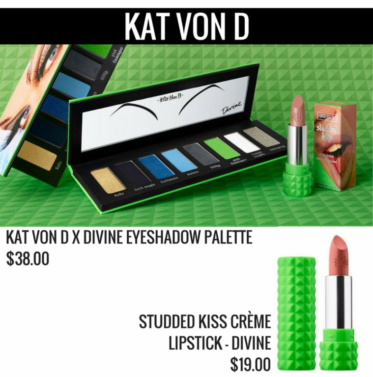 Kat Von D x Divine Collection