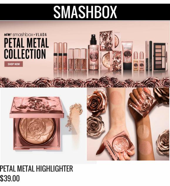 Smashbox Petal Metal Collection