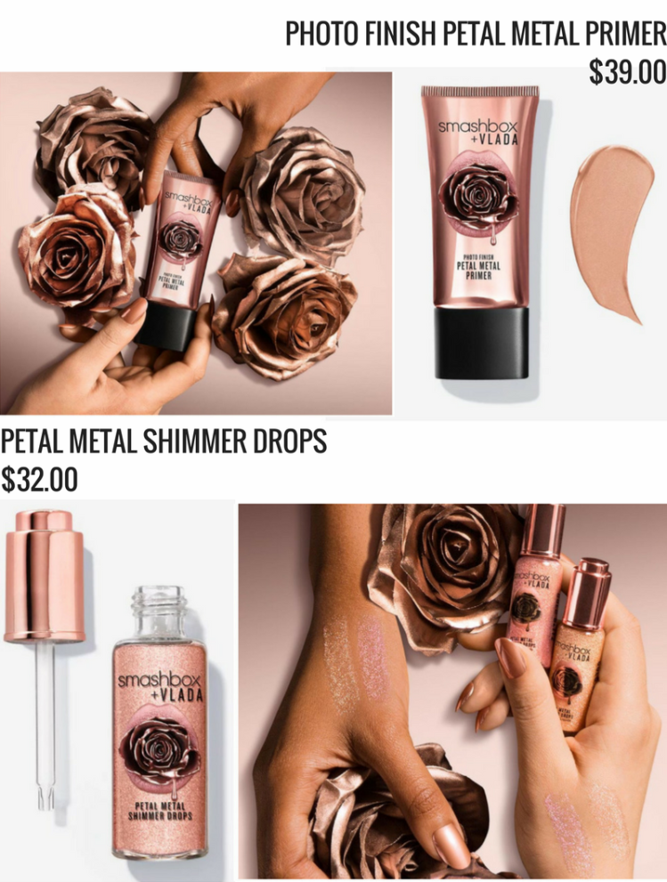 Smashbox Petal Metal Collection