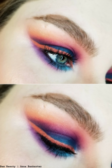Get the Look | Retro Futurism - Vaporwave/Cyberpunk Makeup Tutorial Feat Huda Beauty Electric Obsession