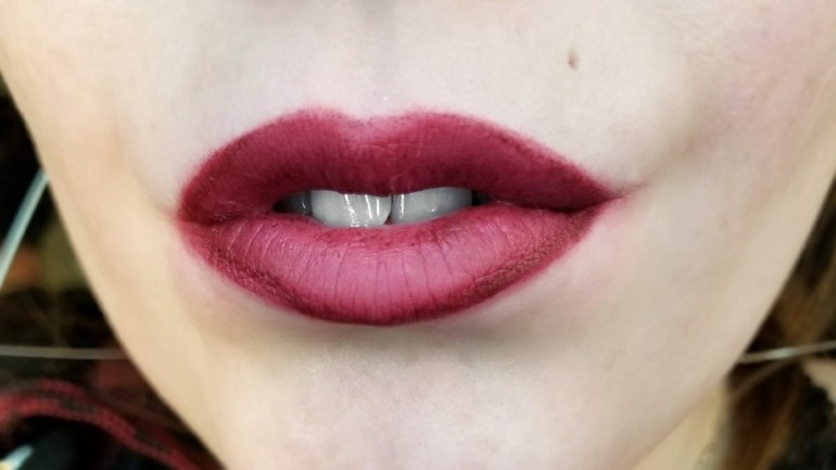 Stila Stay All Day Liquid Lipstick in Sheer Morello
