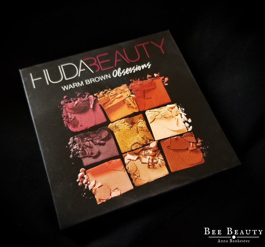 Huda Beauty Warm Browns Obsessions