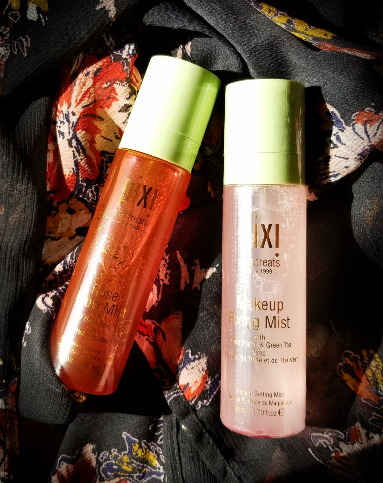 Pixi Rose Glow Mist + Pixi Makeup Fixing Mist