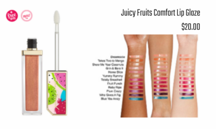 Too Faced - Tutti Frutti Juicy Fruits Comfort Lip Glaze