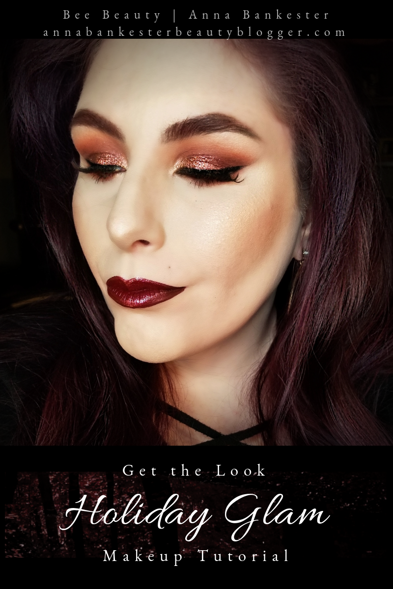Get the Look | Holiday Glam 2018 feat. Huda Beauty Desert Dusk