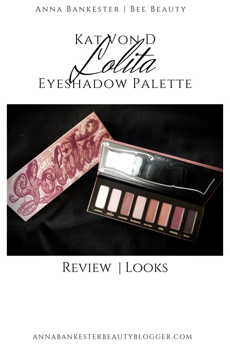 Kat Von D Lolita Palette Review + Looks.