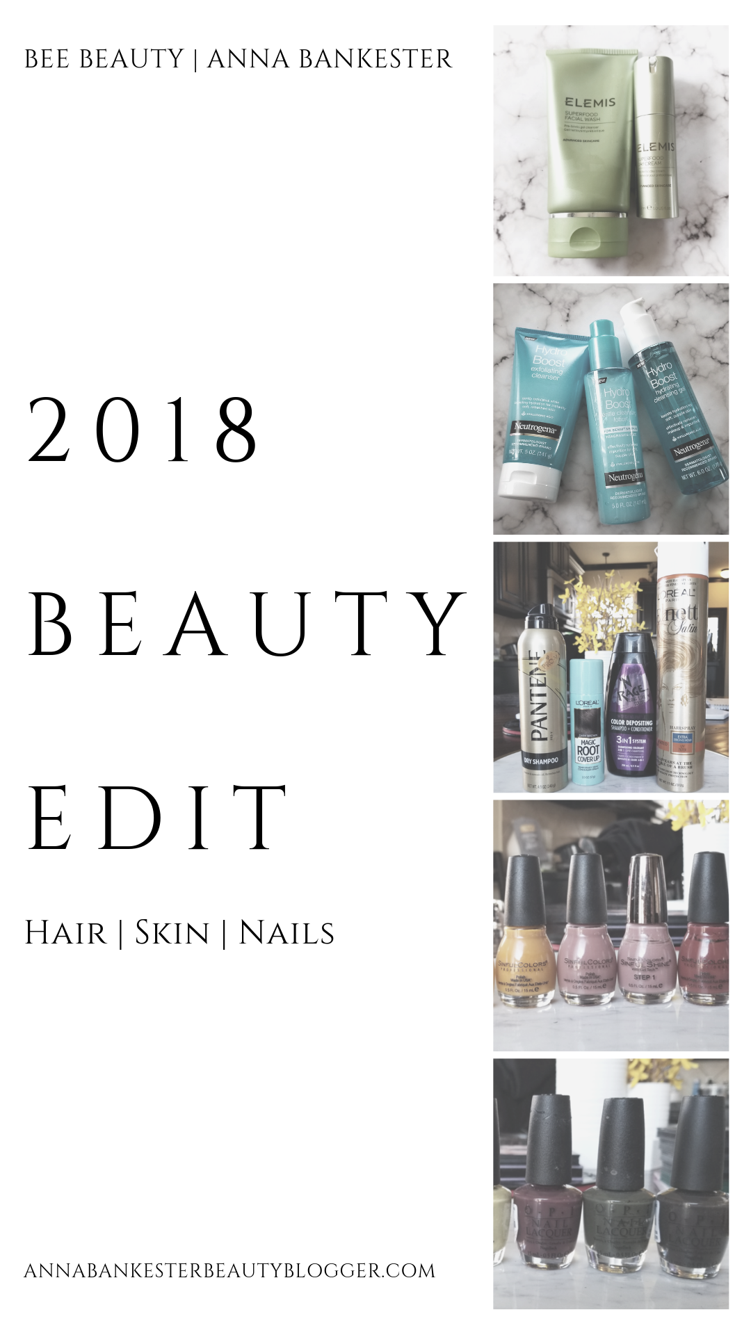 2018 Beauty Edit | Hair, Skin and Nails