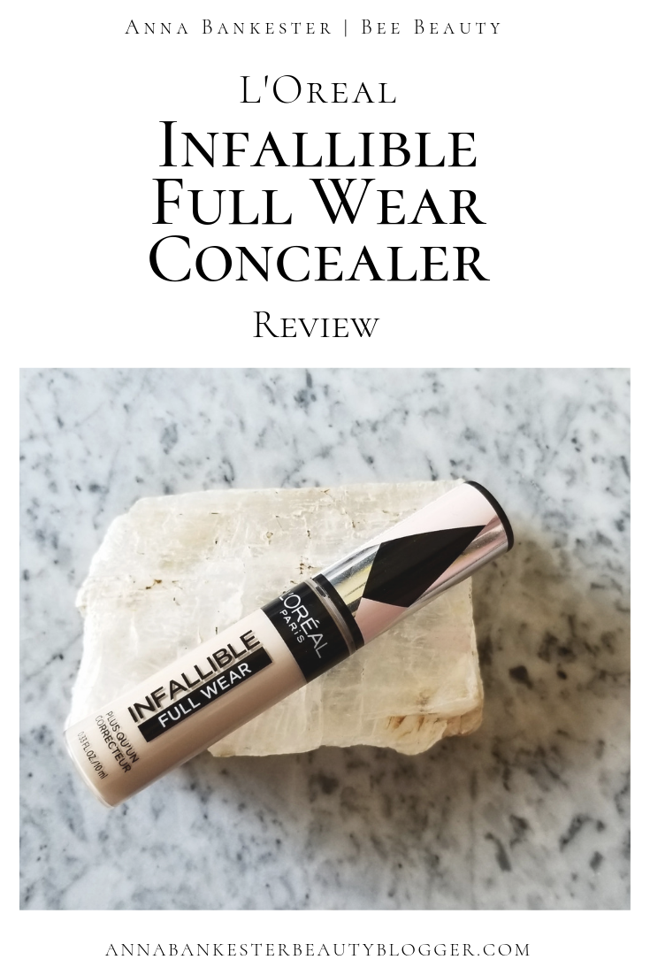 L Oreal Infallible Full Wear Concealer Review Wear Test