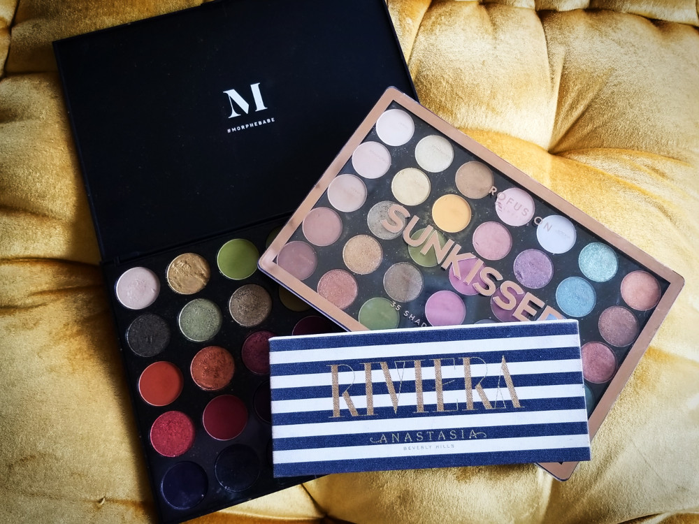 SS MOOD ARTISTRY PALETTE . ANASTASIA BEVERLY HILLS RIVERA PALETTE . Profusion Sunkissed Palette.