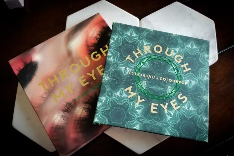 Colourpop x Iluvsarahii Through My Eyes
