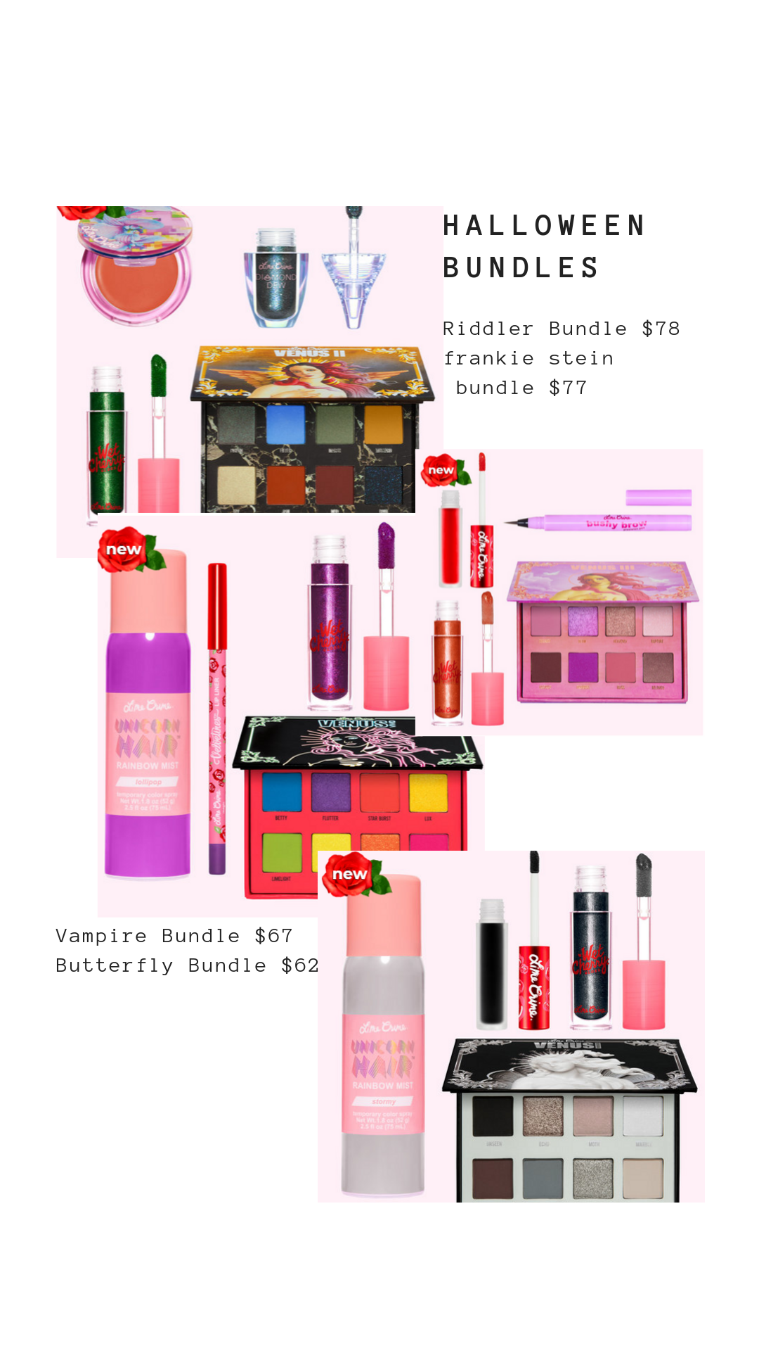 Lime Crime Halloween Bundles