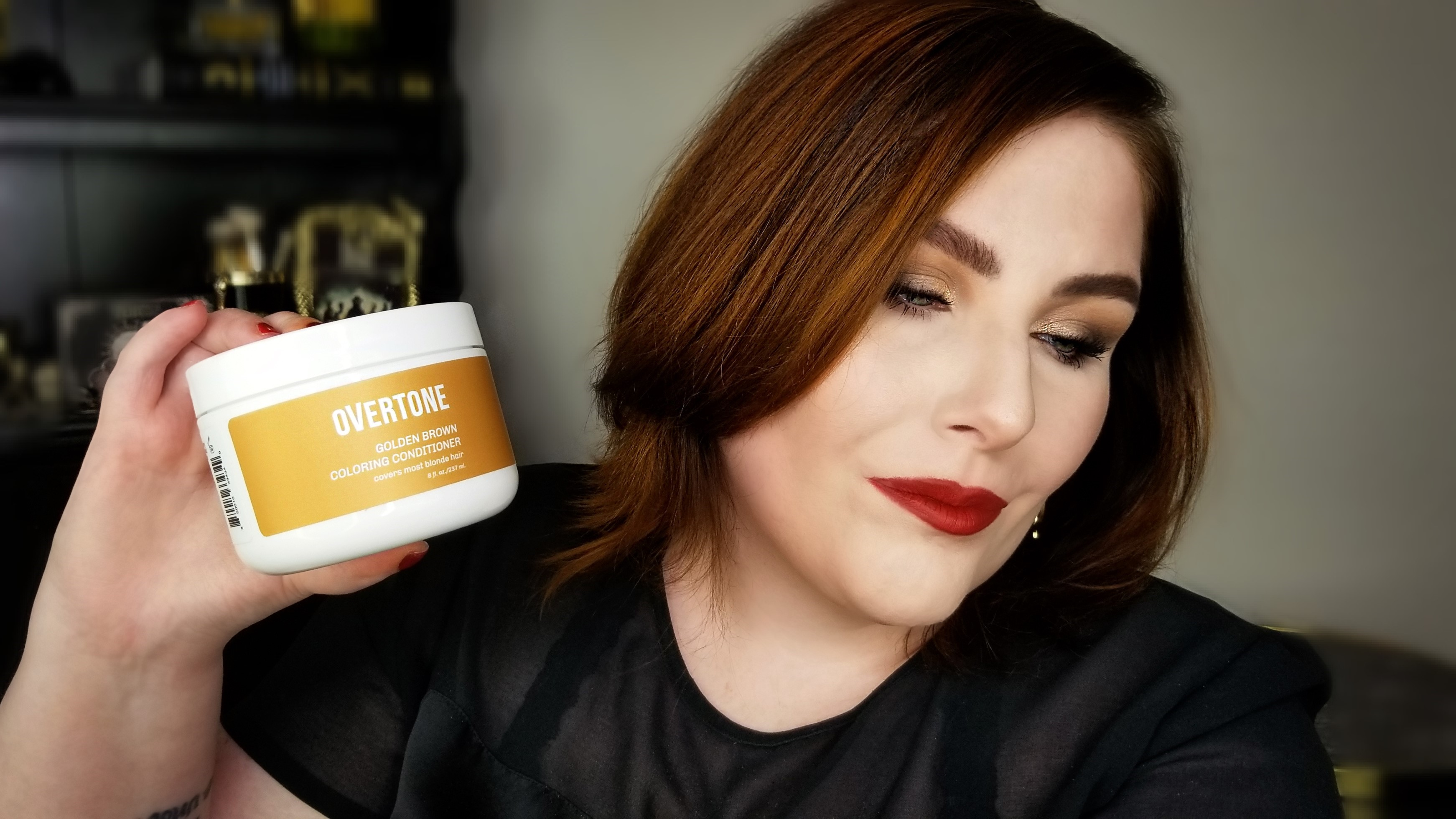 Overtone Conditioning Color in Golden Brown