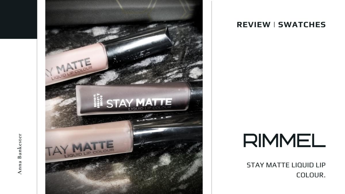 Rimmel Stay Matte Liquid Lips Colour
