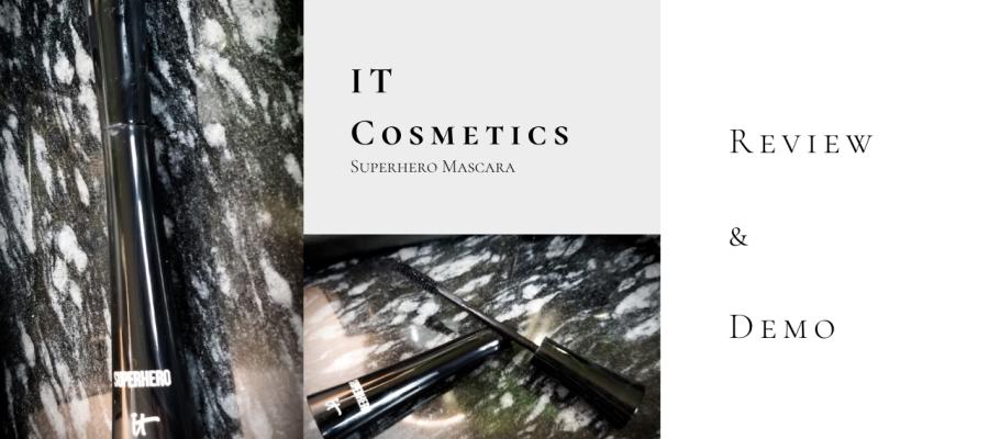 It Cosmetics Superhero Mascara Review