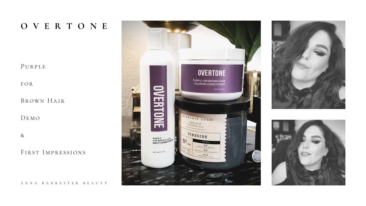 Overtone Purple For Brown Hair Conditioning Color