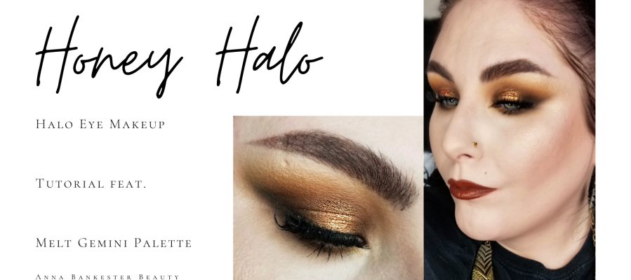 HONEY HALO – HALO EYE MAKEUP TUTORIAL WITH MELT GEMINI