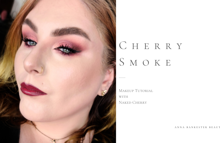 CHERRY SMOKE MAKEUP TUTORIAL FEAT URBAN DECAY NAKED CHERRY COLLECTION