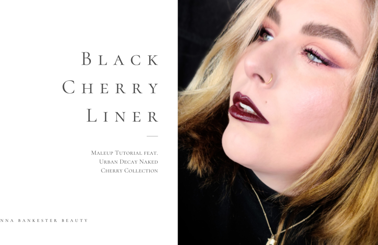 BLACK CHERRY LINER MAKEUP TUTORIAL FEAT. URBAN DECAY NAKED CHERRY