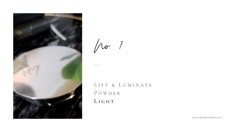NO. 7 Lift & Luminate Powder Review